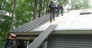 Metal Roof Repair, Atlanta